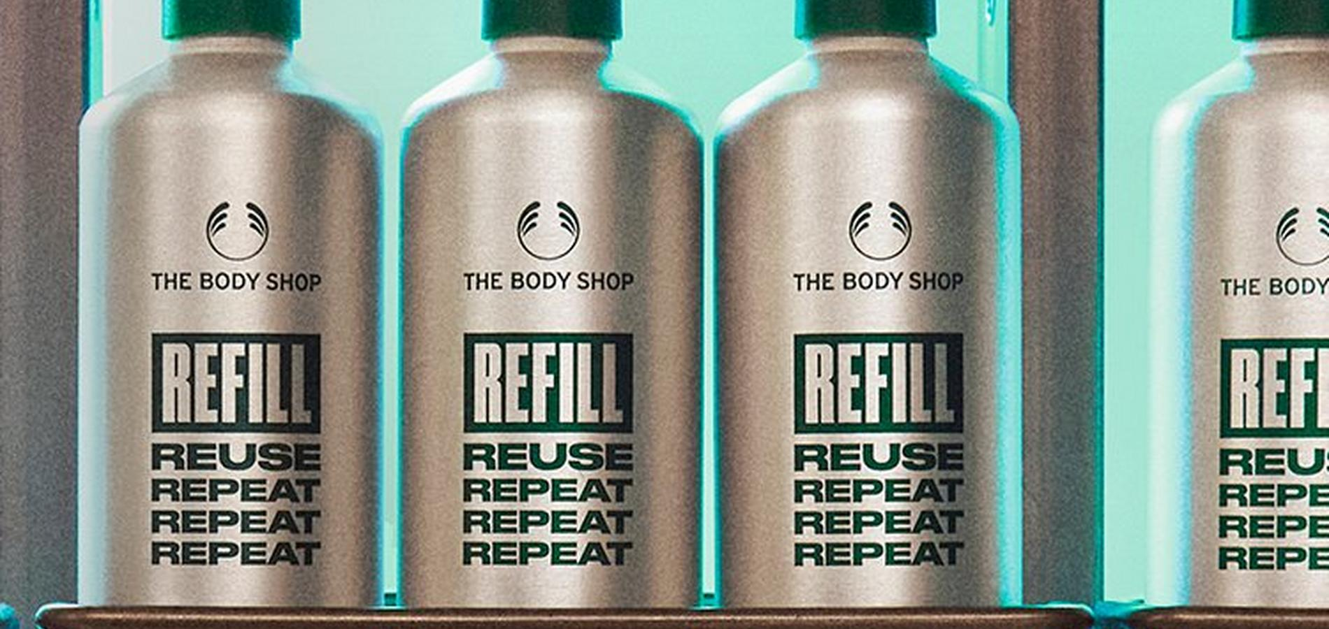 The Body Shop Refill Bottles